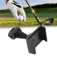 Golf Training Aids Swing Record Phone Holder Cell Clip Stand Bracket Support Rotatable Accessories