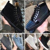 40% скидка повседневная обувь для мужчин Открытый красный днище туз бренд роскоши дизайнеры кроссовки высококачественные спортивные дышащие лето бросают китайские фабрики интернет-магазины
