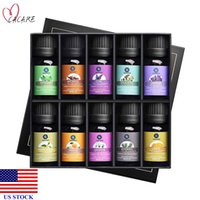 Ätherische Öle Geschenk für Aroma Diffusor 10 Set Kit Home Düfte H0042 US-Aktien Schnelle Lieferung