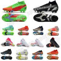 2021 Superfly 8 VIII 360 Elite FG Futbol Ayakkabıları XIV Yusufçuk CR7 Ronaldo Impulse Paketi MDS 04 14 Rüya Hızı 4 Erkek Kadınlar Büyük Erkek Yüksek Futbol Çizmeler Kutusu US3-11 ile