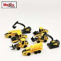 Maisto Diecast 1:64 Échelle 3in Mini Métal Volvo Construction Véhicules Modèle Dumper Excavatrice Toy Car pour cadeau de collection pour enfants
