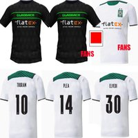 21 22 Borussia Monchengladbach Jerseys de fútbol 2021 2022 Home Gladbach Elvedi Plea Zakaria Neuhaus Ginter Thuram Men Kit Kit Kit Foootball Camisa