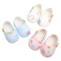 طفل رضيع الأطفال الرضع، لطيف المطبوعة الشقق عدم الانزلاق لينة سوليد طفل رضيع أول مشوا أحذية سرير الأميرة