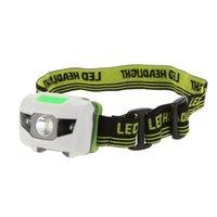 Лучший водонепроницаемый мини 3 режима 3W мини-фара 3 светодиодный фар фонарик на открытом воздухе лампа головной головной факел