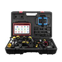 Lancio x431 pro3s + hdiii 12v auto 24 V camion strumento diagnostico online codificando controllo bidirezionale OBD2 Scan L PK MK808