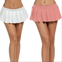 Micro Mini Dance Clubwear Sexy Women Skirts Solid Evening Party Costume Clothes Summer