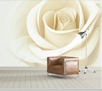 Papel De Parede 3D Stereo Beautiful Flower Rose Modern Wallpaper Mural,living Room Tv Walll Bedroom Wall Paper Home Decor Wallpapers
