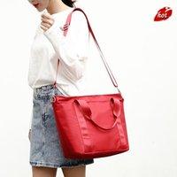 Fashion Women Shoulder Bag Nylon Waterproof Satchel Large Capacity Handbag Messenger Bags Zipper Single Tote For #SRN