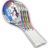 Raquete de tênis de liga de alumínio raquete de carbono fibra de carbono com competição de competição de tênis raquete para homens e mulheres
