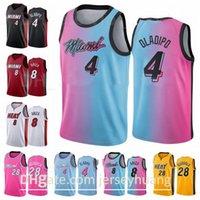 인쇄 된 농구 8 Trevor Ariza Jersey 28 Andre Iguodala 4 Victor Oladipo City 획득 팀 사용자 정의 이름 번호 사이즈 S 사이즈 XXXL