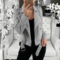 Women's Jackets 2021 Brand Women Tunic Coat Autumn Elegant Plus Size Winter Top Long Sleeve Jacket Female Jumper Ladies Cardigans Aesthetic