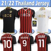 20 21 OGC Güzel Futbol Formaları Dolberg 2020 2021 Atal Lees Melou Cyprien Futbol Gömlek Rony Lopes Claude Maurice Nice Jersey Tayland