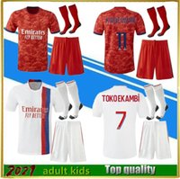 21 22 Olympique Lyonnais Lyon soccer jersey 2021 2022 maillots TOKO EKAMBI MEMPHIS Kadewere AOUAR L.Paquetá BRUNO G. men kids kit football shirts fans