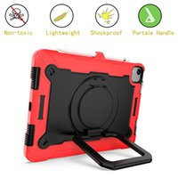 Tablet Cases 360 Rotating Grip Stand Cover With Shoulder Strap Pencil Holder For IPad Air 4th Generation 10.9 2020 Pro 11 Inch 2020 2018