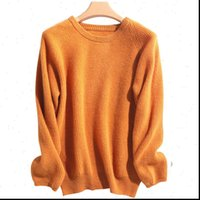 Cashmere Pullover O Neck Women Sweaters Autumn Winter Long Sleeve Loose knitted Soft Merino Wool Female Jumper