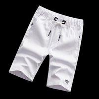 Pantaloncini da uomo Classic Mens Fashion Beach Sports Pants Cotton Men 'Abbigliamento Summer Summer Summer Abbigliamento da tendenza