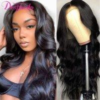 Lace Wigs Brazilian Body Wave Front Wig 13x1 Frontal For Women 4x1 T Part Closure Despasito