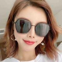 Anti Sunglasses Moda Polarizer Ultraviolet femmina Scava fuori Outdoor Viaggi Occhiali da donna Net Red Street S Coreano