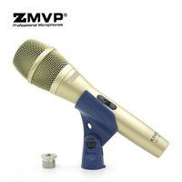 Grade Professional Live 보컬 KSM9C Dynamic Wired Microphone KSM9 핸드 헬드 마이크 Karaoke Studio Record Microoke 용 On / Off 스위치