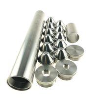 Piège de solvant en acier inoxydable de filtre à carburant de 12 pouces pour NAPA 4003 WIX 24003 1/2-28 5/8-24 M15 M16 M18 M24