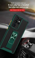 Rugged Armor Shockproof Clear Phone Cases For Samsung Galaxy A72 A52 A32 A22 A42 A12 A02 M02 A03S Magnetic Holder Ring Stand