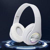 Flash 5.0 Bluetooth headphone Earphones with wireless light plug-in card B39-1