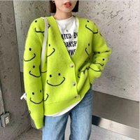 Korean 2021 new autumn and winter lazy casual sweater women's loose coat top women trend Clothing