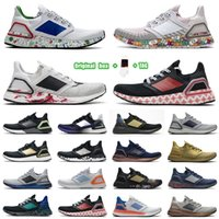 [Scatola originale + calze + tag] Adidas UltraBoost 20 Ultra Boost shoes UB 6.0 Scarpe da corsa Mens SE triplo arancione globale valuta oro metallico run light light zapatos