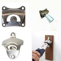 Vintage Wall Mounted Wine Beer Bottle Opener Tool Bar Drinking Accessories Home Decor Kitchen Party Supplies