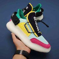Jinbaoke Fashion Sneakers مصمم الركض أحذية للرجال الأحذية مكتنزة أبي تنفس الرياضة المشي الركض رياضة zapatillas