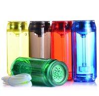 LED Lighting Smoking Hookah CUP OPP Bag Travel Portable Plastic Set for Car Bottle