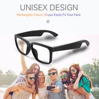 Lunettes Bluetooth Touch Control Technology Designer Eyewear Hands Lunettes de soleil gratuites Conduire Smart Audio