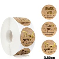 Gift Wrap Thank You For Supporting My Small Business Stickers 500 Labels Per Roll Wrapping Decoration Self-adhesive Labe L