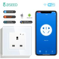 Smart Home Control BSEED UK Socket Outlet WiFi Outlet Lavoro con Alexa Google Life APP APP Timer Timer Timer remoto Timer 13A