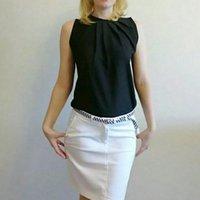 Kadın Bluz 2021 Yeni Moda Yuvarlak Boyun Kolsuz Rahat Tank Top Yelek Yaz Gevşek Katı Renk Bluz kadın Gömlek Giysileri