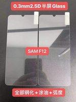 Protecteur d'écran de téléphone portable 0.3mm 2.5D Verre trempé de 9H pour Samsung F12 / F02S / A72 4G / A022 / A32