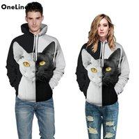 Cat Astronaut 3D Printed Hoodie Sweatshirts Pullovers Men Women Long Sleeve Hooded Tops Harajuku Streetwear Hoody