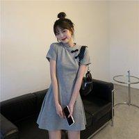Летняя женская юбка, китайский стиль, улучшенная версия платья Cheongsam, женская талия, тонкий A-Line Skirt PL242 210506