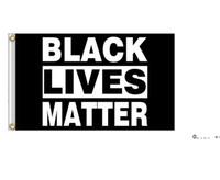 Black Lives Matter Flag Banner Supplies For Outdoor BLM Peace Protest Outdoor Banner Bracelet FWF10075