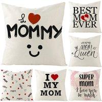 Украшение дома материнский день подарок подушка подушка льна диван подушка