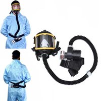 Clothing & Wardrobe Storage Electric Supplied Air Fed Full Face Gas Cover Constant Flow Respirator System Device Breathing Tube Adjustable M