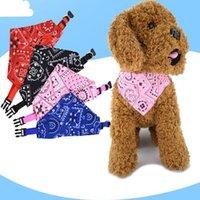 Adjustable Pet Dog Triangular Saliva Towel Bandage Puppy Cat Scarf Bandana Collar Bibs Cat Neck Decor Dress Up Birthday Party Washable S M L