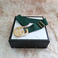 أزياء المرأة مرونة حزام حزام الكلاسيكية ceinture مزدوجة مشبك أحزمة اللباس حقيقية للنساء الخصر حزام