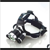 Boruit 3T6 Headlamps Headlight Cree T6 3 Led 5000Lm Rechargeable High Power Head Lamp Lights Deqt9 Bzn1S
