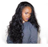 barato Cosplay long wave cosplay preto kinky encaracolado perucas resistentes ao calor Freetress Freetress Cabelo Peruca dianteira de renda sintética para mulheres negras FZP83