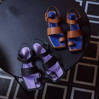 Sandali Summer Lady Sandali leggeri morbidi comodità a comoda piattaforma aumentata scarpe di alta qualità in pelle sottopiede in pelle pista da spiaggia
