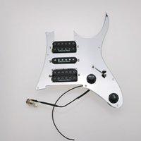 1 مجموعة التقاطات الغيتار الكهربائية dimarzi alnico التقاطات hsh مرآة pickguard