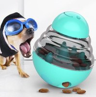 Interactive Pet Feeders Pets Food Treat Ball Bowl Toy Dog Shaking Leakage Container Puppy Cat Slow Feed Cats Tumbler Feeder