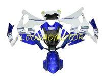 Injection mold ABS fairings kit full fairing kits For YAMAHA YZFR6 YZF R6 2008 2009 2010 2011 2012 2013 2015-2016 2014 08 09 10 11 12 13 14 15 16 Blue White Bodywork