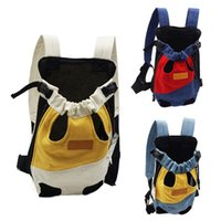 Outdoor Pet Dog Carrier Backpack Breathable Portable Travel Products Bags For Small Cat Chihuahua Car Seat Covers